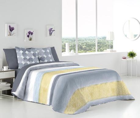 Set s prešitim posteljnim pregrinjalom King Enora Grey