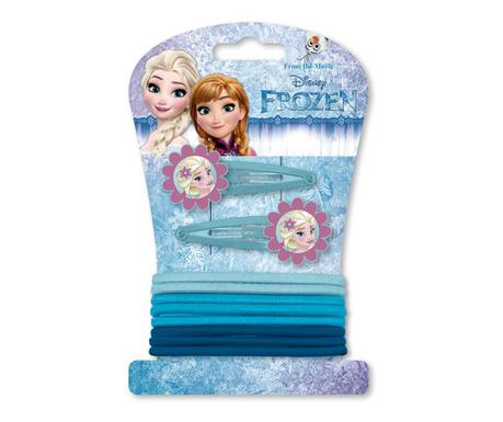 Set 10 otroških dodatkov za lase Frozen