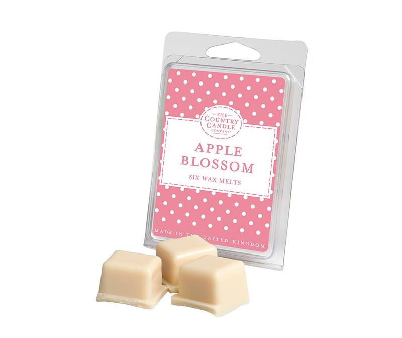 Set 6 komada mirisnog voska Polka Dot Apple Blossom