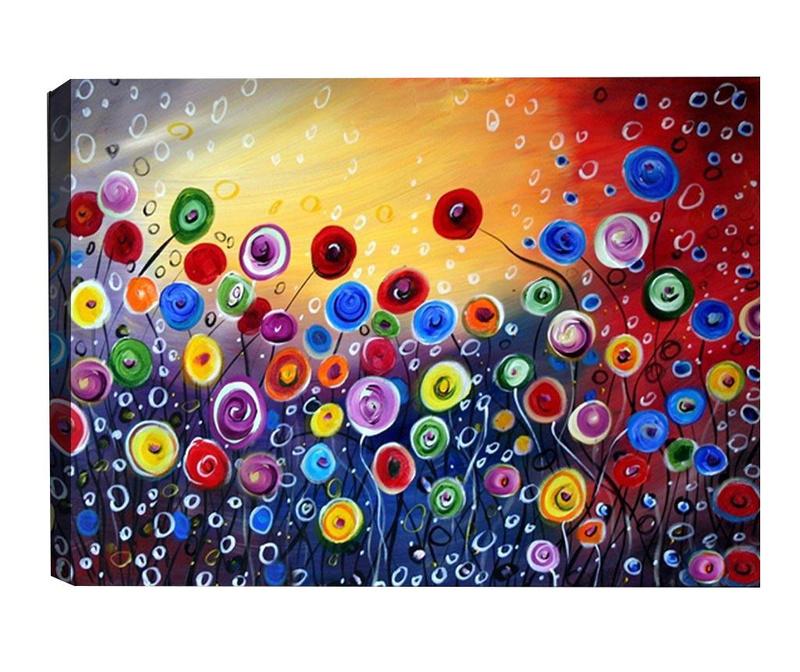 Slika Surreal Flowers 40x60  cm