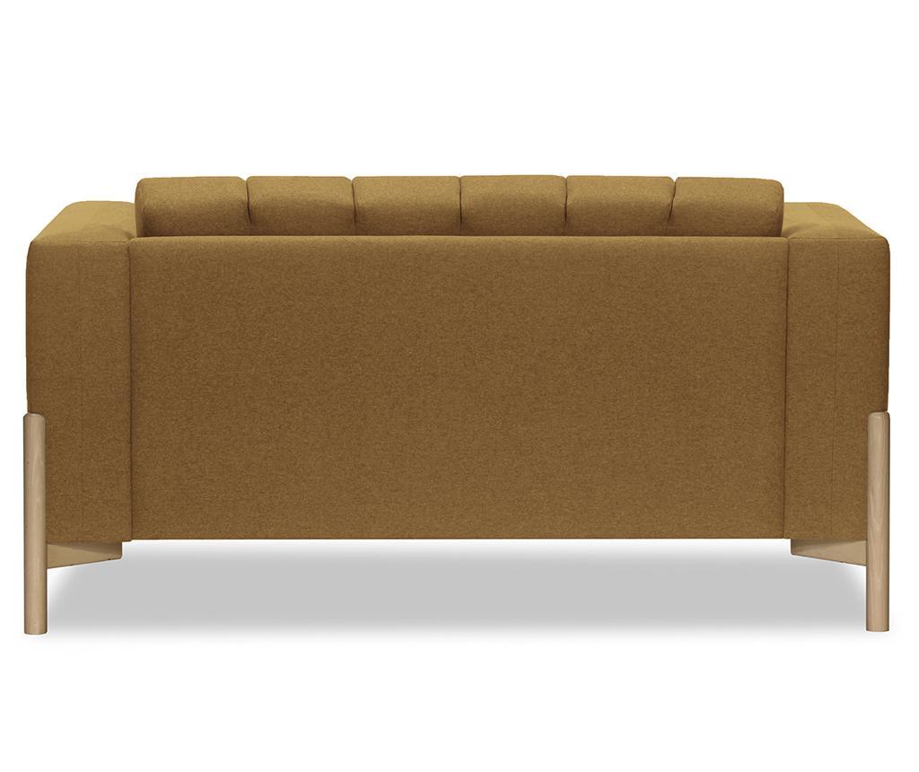 Canapea 2 locuri Haki Ontario Brown