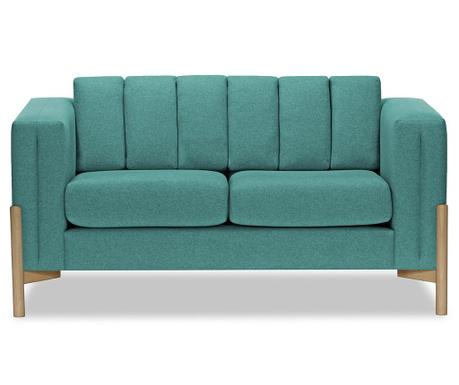 Canapea 2 locuri Haki Ontario Turquoise