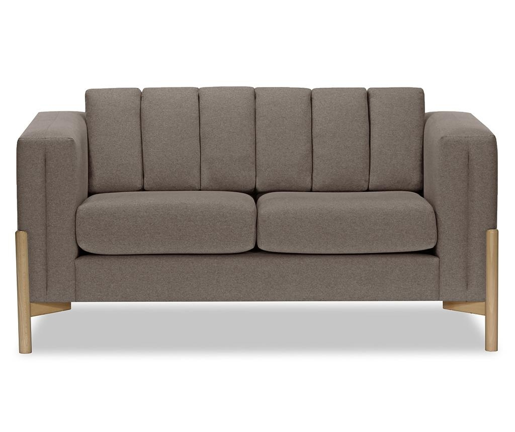 Canapea 2 locuri Haki Ontario Grey