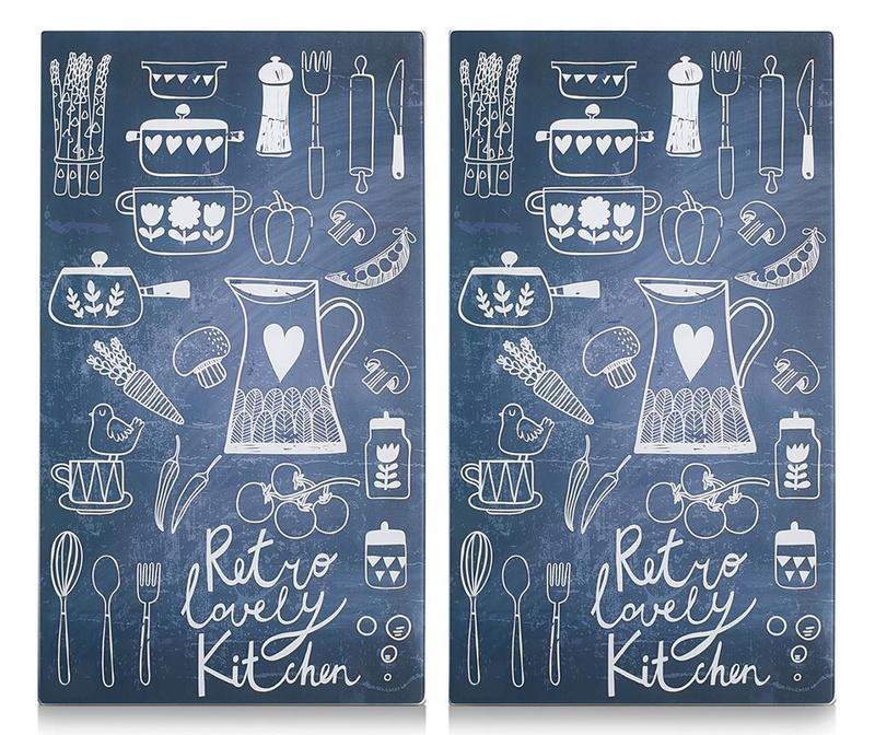 Set 2 zaštitne ploče za štednjak Lovely Kitchen
