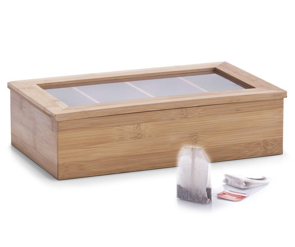Krabice s víkem na čaj Linda