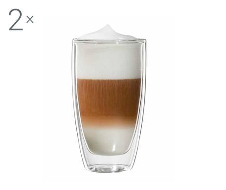 Roma Twin 2 db Latte macchiato  pohár 300 ml