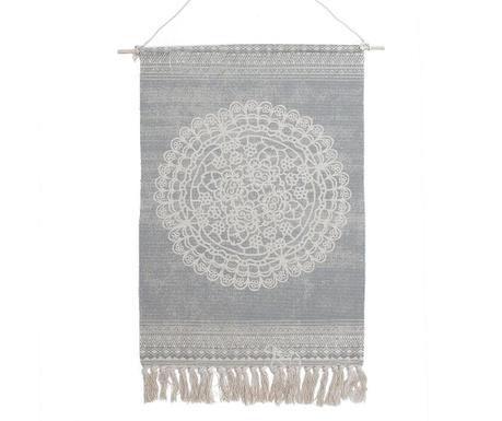 Nástěnná dekorace Mandala Grey