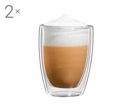Roma Twin 2 db Cappuccino  pohár 200 ml