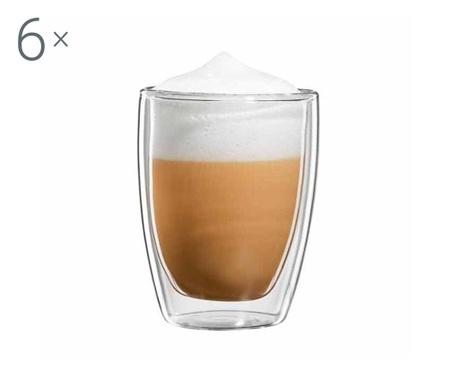 Roma 6 db  Cappuccino pohár 200 ml