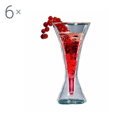 Bloo 6 db Koktélos pohár 240 ml