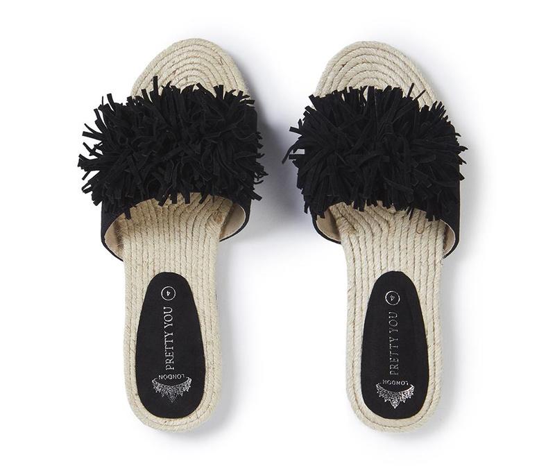 Ženski sandali Tassel Black 40