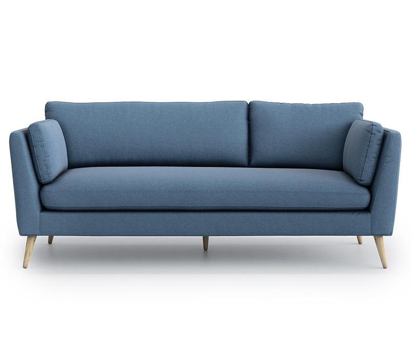 Canapea 3 locuri Jane Olaf Blue