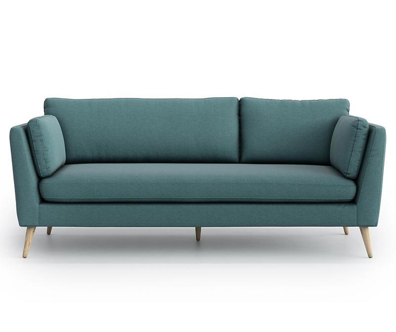 Canapea 3 locuri Jane Olaf Green