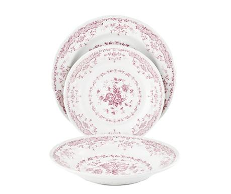 Сервиз за хранене 18 части Rose Pink