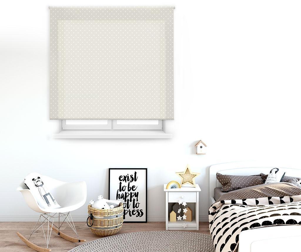 Rolo zavjesa Dots Beige 110x180 cm