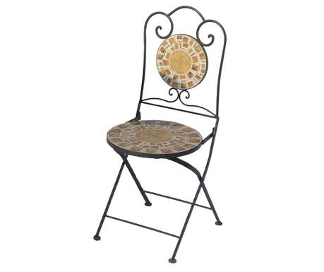 Składane krzesło ogrodowe Mosaic Circle