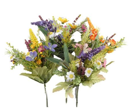 Sada 6 umělých květin Storen