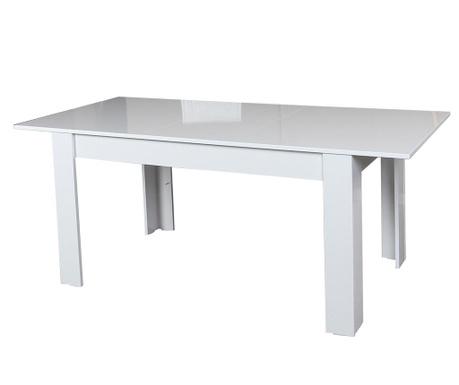 Stół Oblo Shiny White