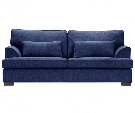 Canapea 3 locuri Ferrandine Bleu Marin
