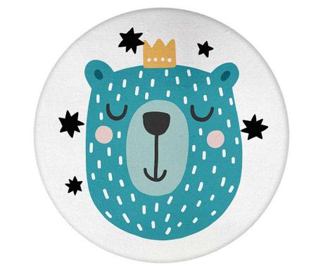 Perna decorativa Lilian The Blue Bear 29 cm