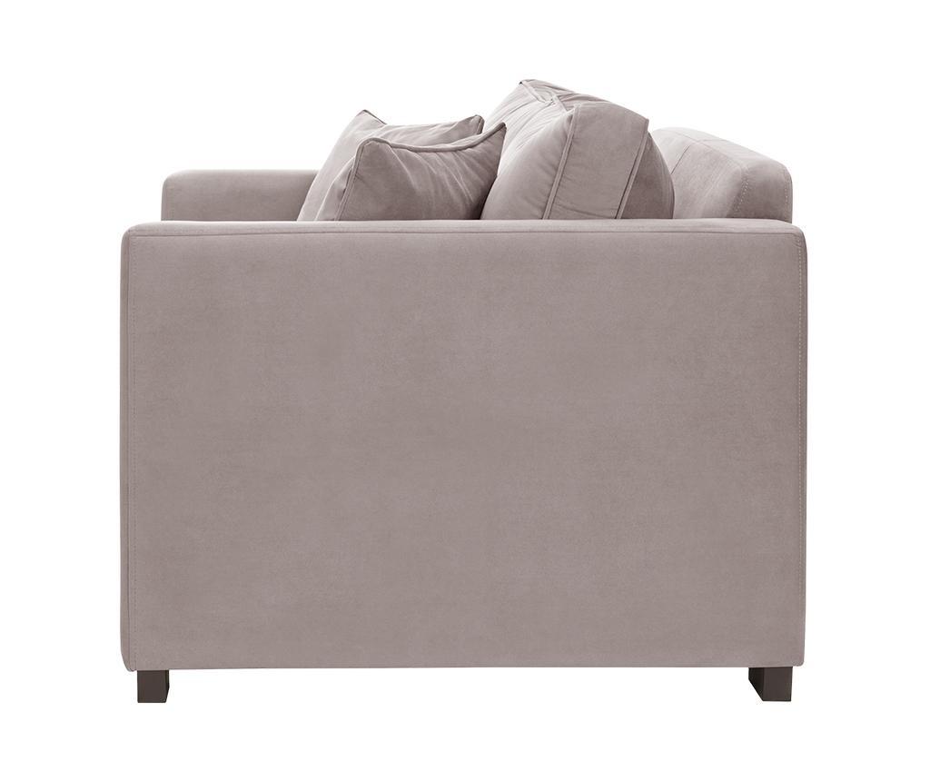 Canapea 2 locuri Taffetas Powder Pink