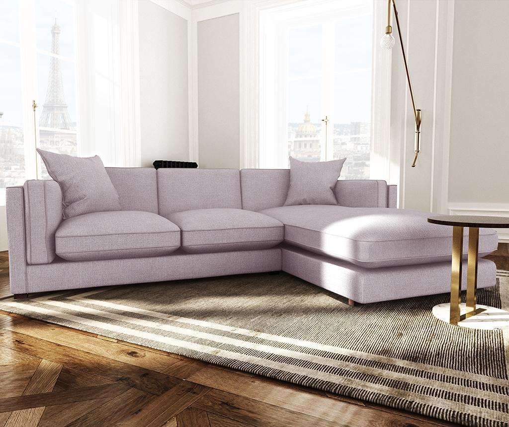 Coltar dreapta Organdi Lilac