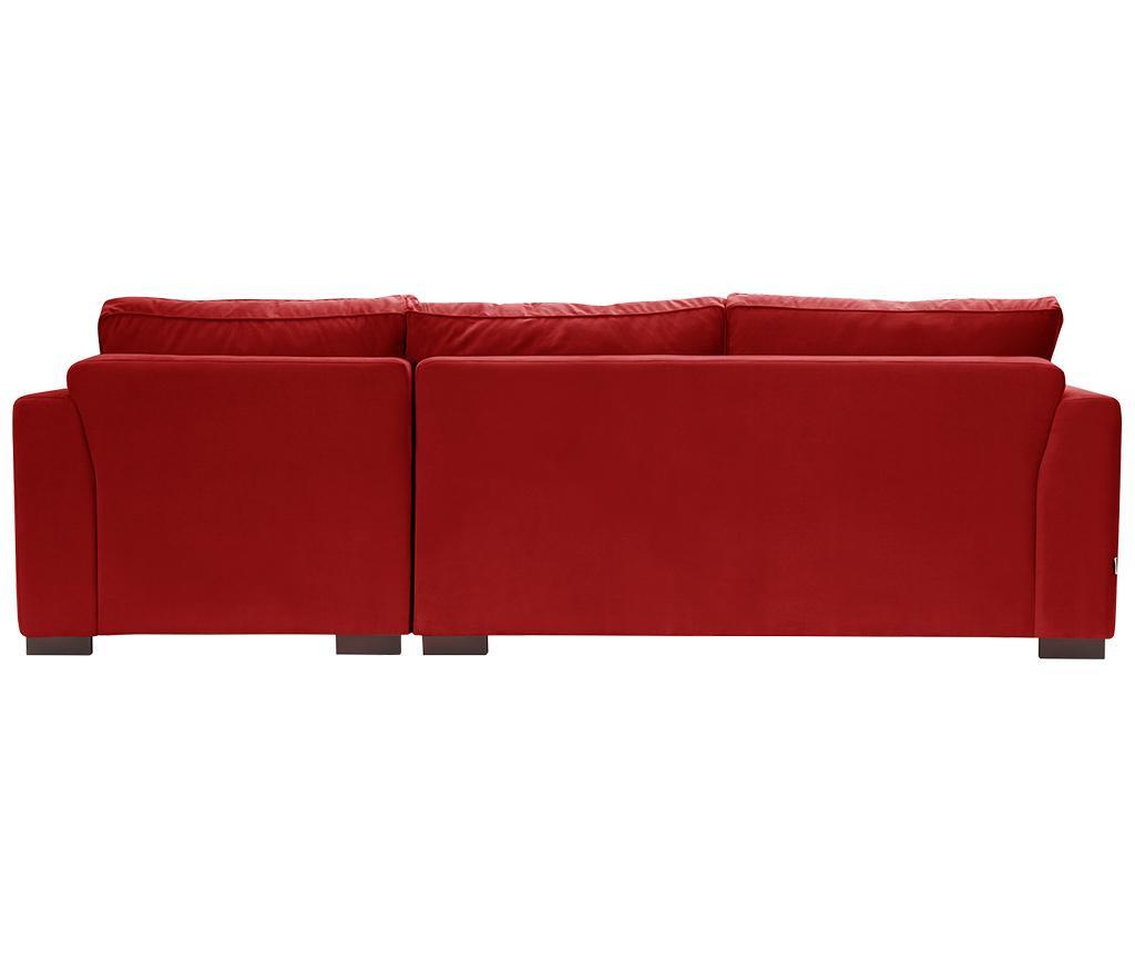 Coltar dreapta Taffetas Glamour Red