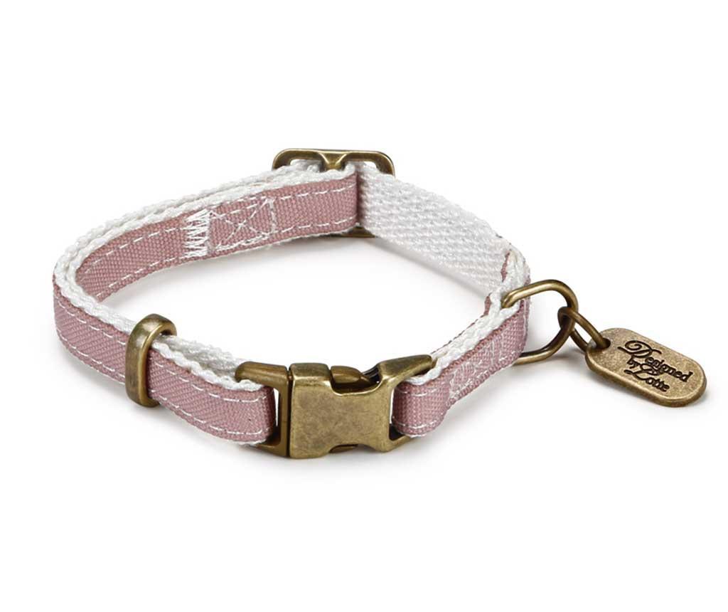 Zgarda ajustabila Virante Pink XL