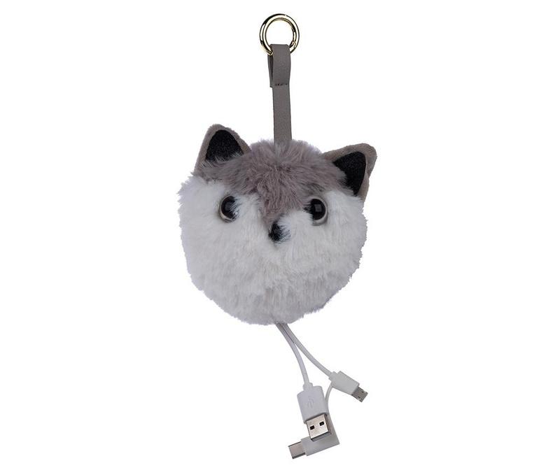Privjesak s vanjskom baterijom Charm Cat Grey