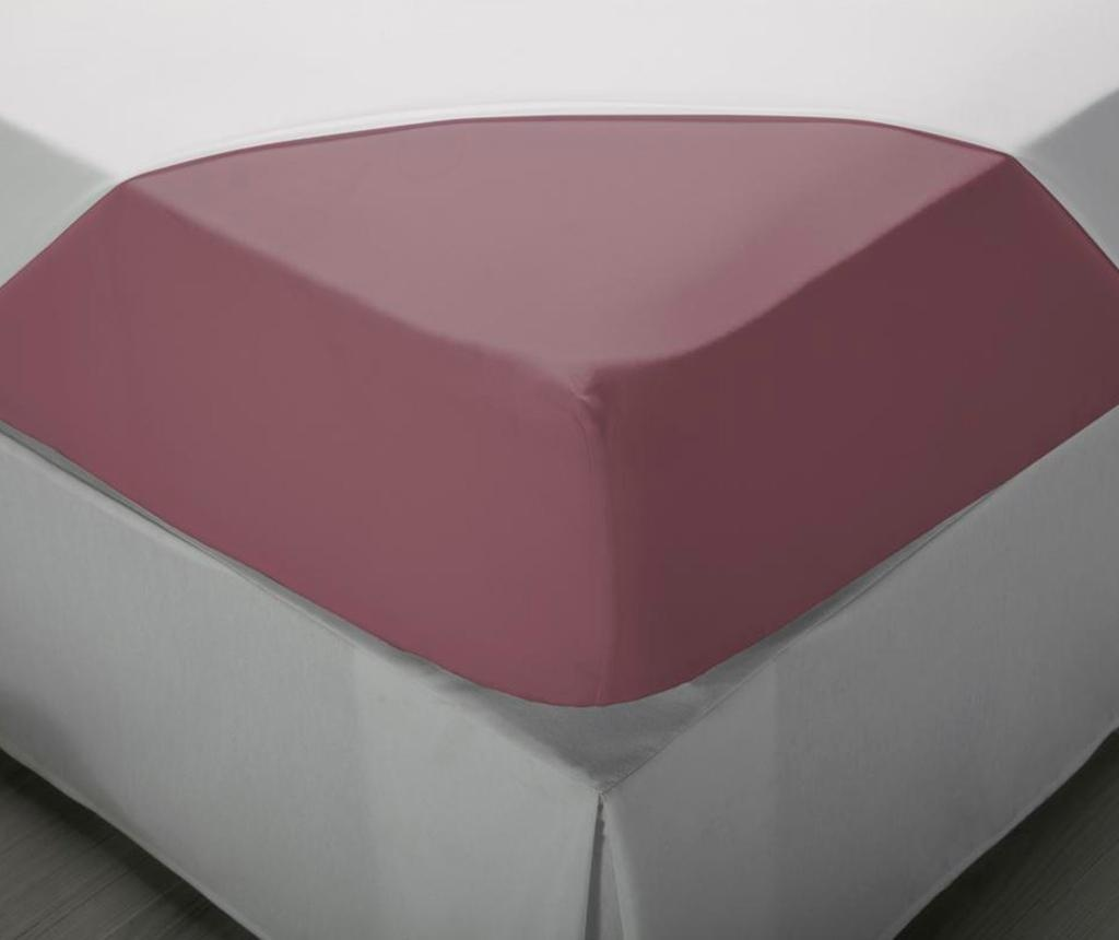 Cearsaf de pat cu elastic Laraline Purple 180x200 cm