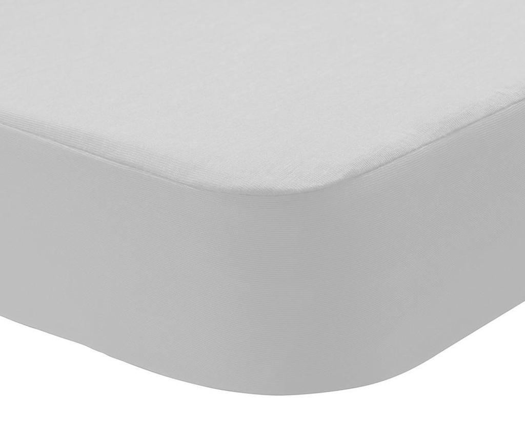 Husa impermeabila pentru saltea Randall 2 in 1 White 90x190 cm