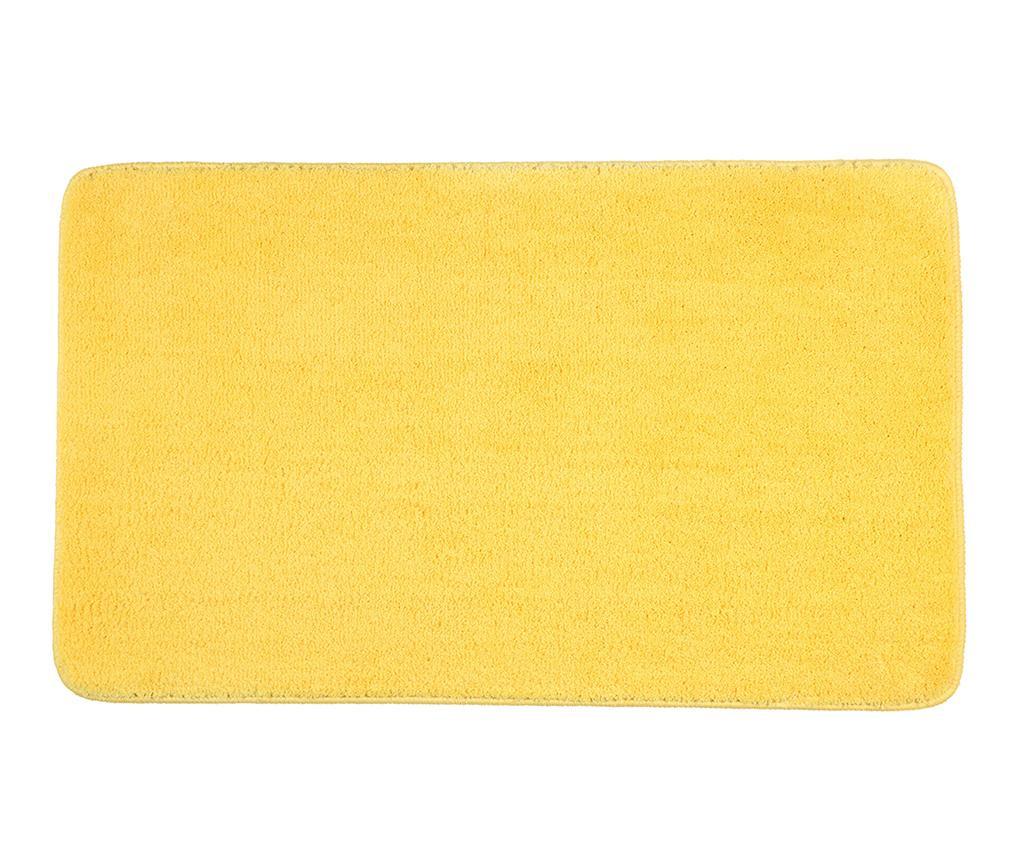 Covoras de baie Loretta Yellow 60x100 cm