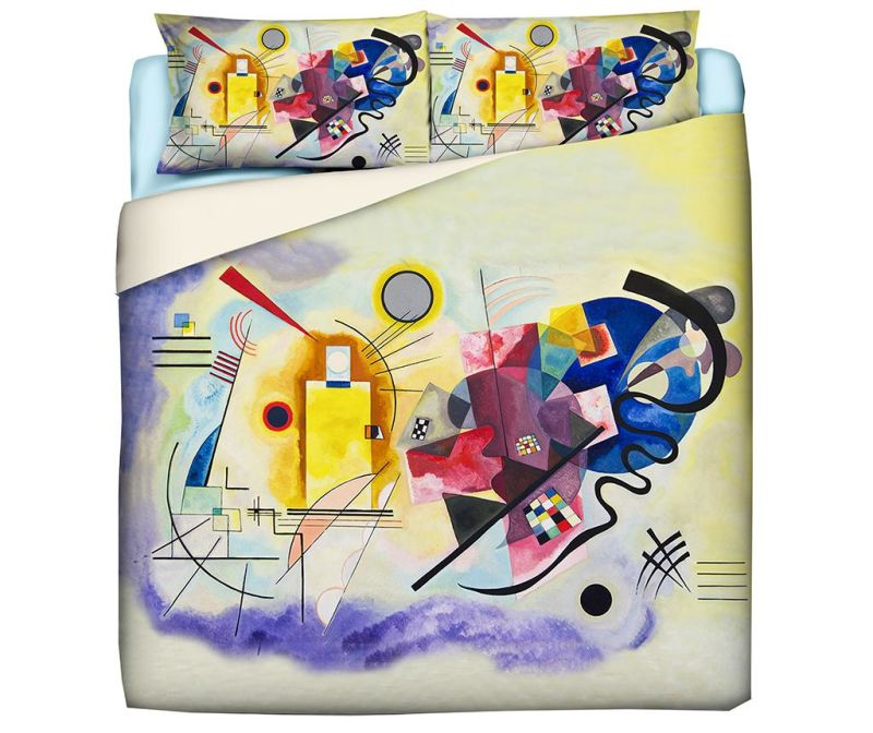 Set de pat King Ranforce Kandinsky