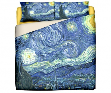 Komplet Pościeli King Ranforce Van Gogh Starry Night