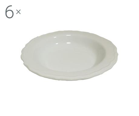 Комплект 6 дълбоки чинии Juliet