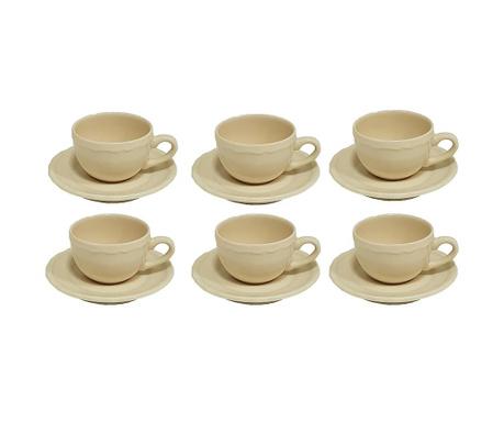 Сервиз 6 чашки и 6 чинийки Romeo