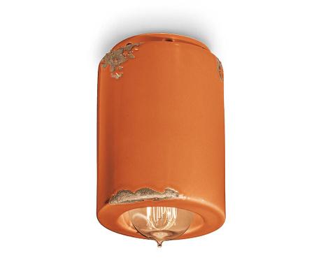 Plafoniera Vintage Cylinder Orange