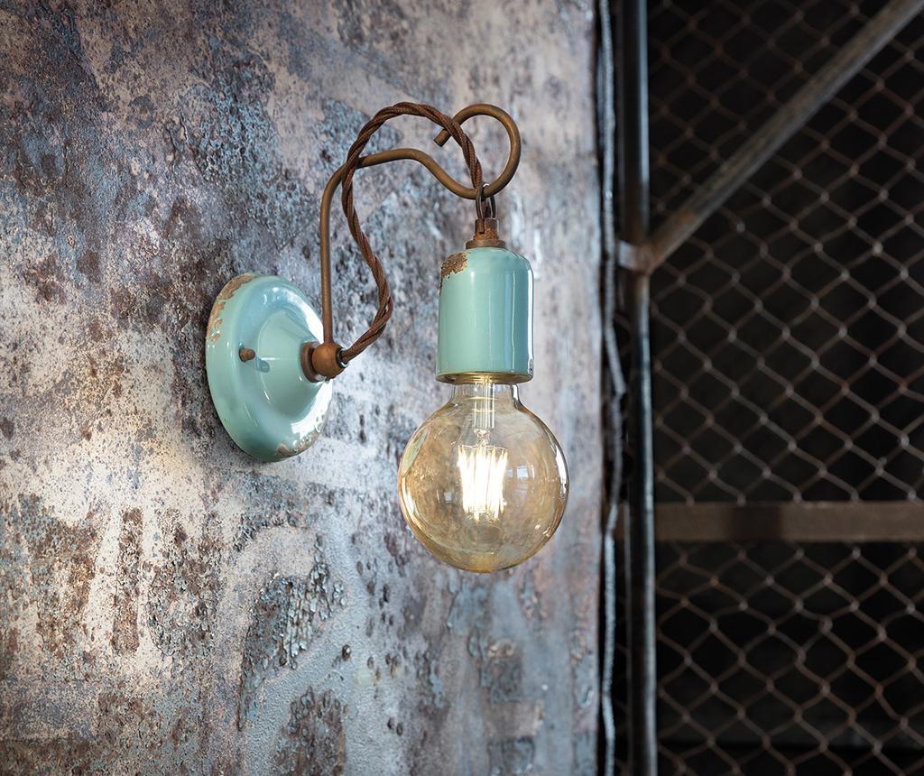 Zidna svjetiljka Vintage Rope Blue
