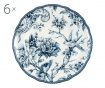 Adelaide Blue 6 db Desszertes tányér