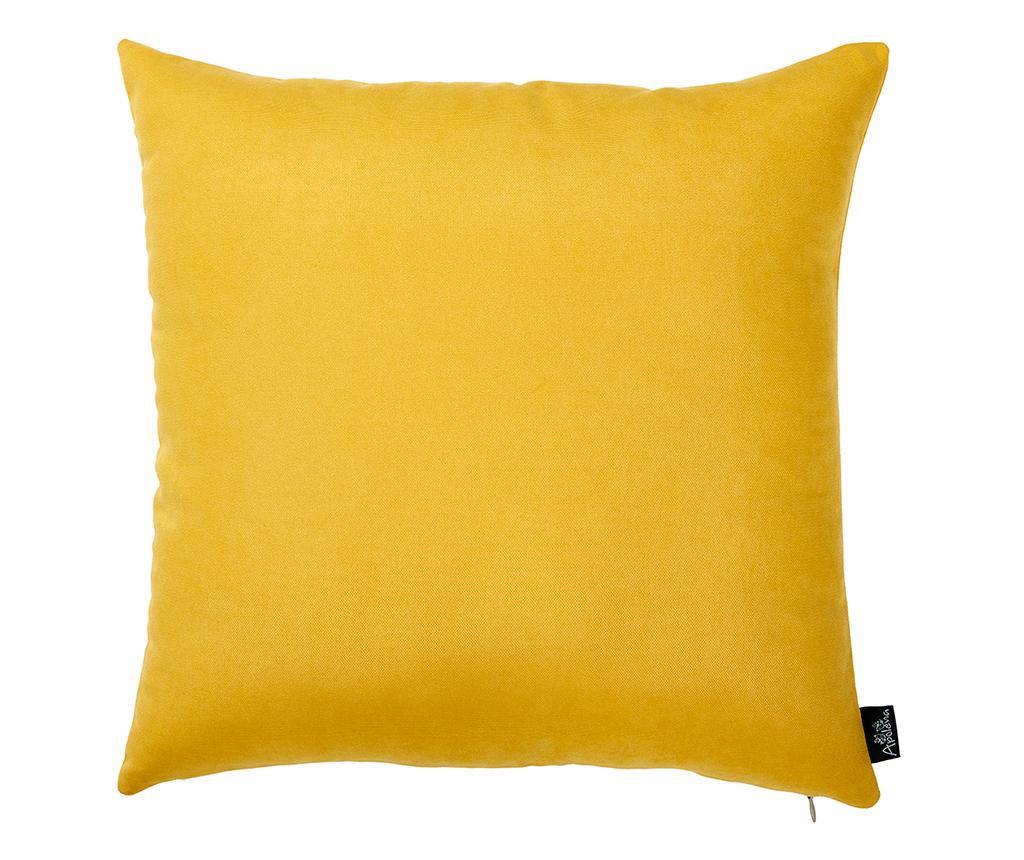 Obliečka na vankúš Julia Yellow 43x43 cm
