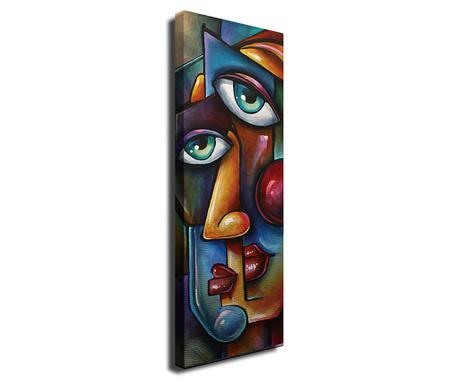 Obraz Lips 30x80 cm