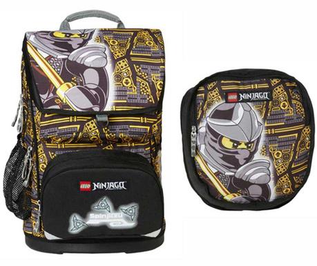 Set - nahrbtnik in športna torba Ninjago Cole Lego Maxi
