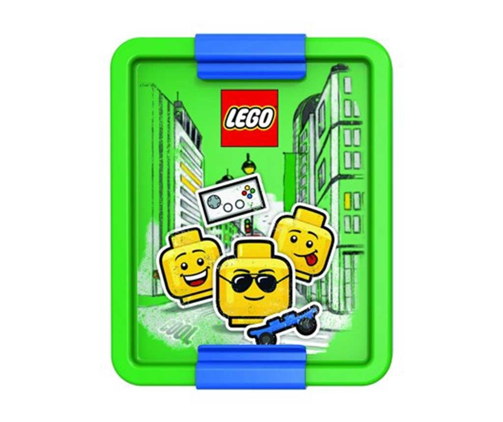 Iconic Boy Lego Uzsonnás doboz
