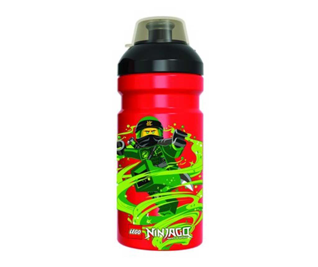 Sticla sport Ninjago Warrior Lego 390 ml