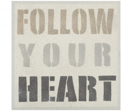 Картина Follow Your Heart 50x50 см