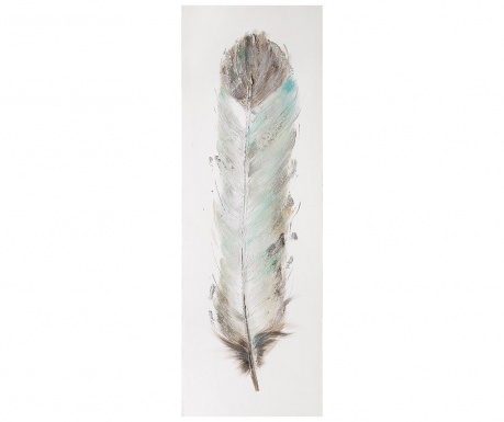 Feather Inga Festmény 30x90 cm