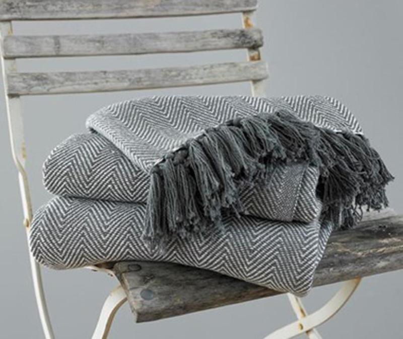 Deka Como Grey 127x152 cm