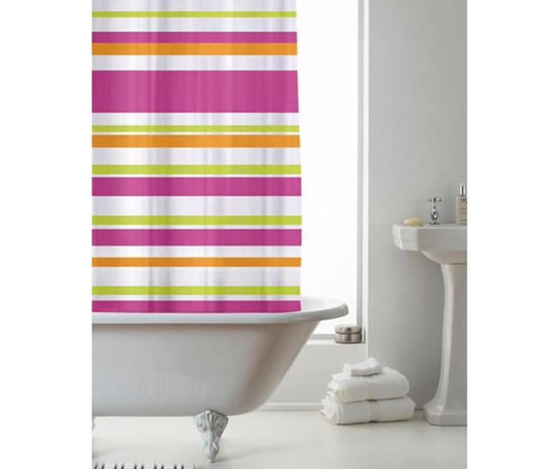 Zavesa za prho Ace Stripe Multicolor 180x180 cm
