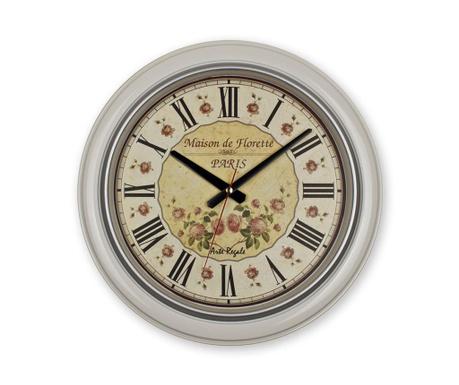 Nástěnné hodiny Maison Florette White