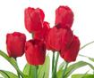 Umjetni cvijet u posudi za cvijeće Tulip Red